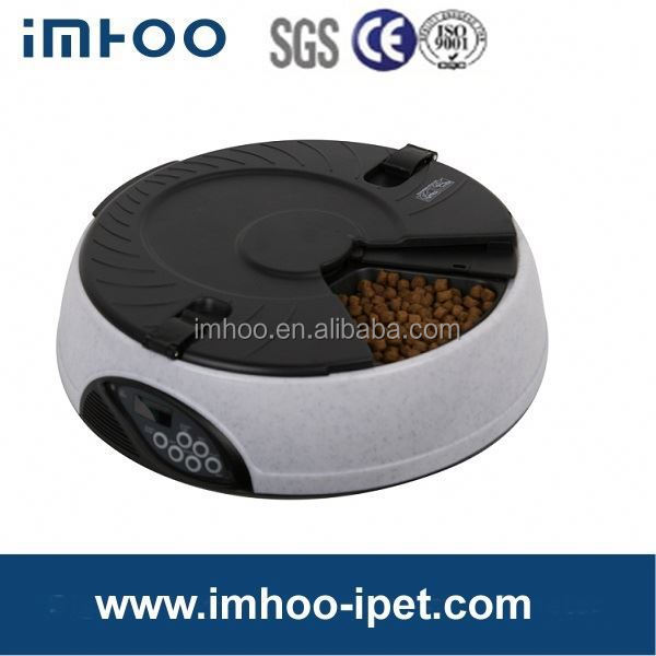 Special 6 Meal LCD Automatic Pet Feeder battery operated pet feeder