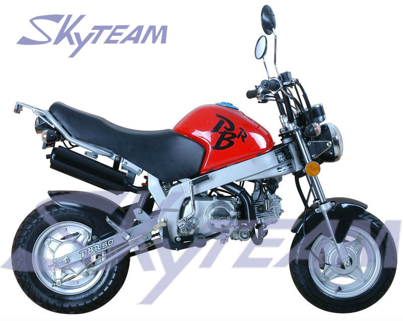 SKYTEAM 125CC 4 course PBR ZB50 KSR STYLE SINGE vélo (CEE EUROIII EURO3 Approbation)