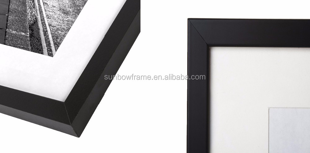 11x14 Black Top Quality Picture Frame Wall Frame To Display 8x10 ...