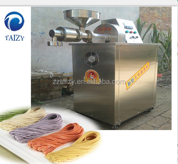 automatic corn flour rice vermicelli macaroni pasta making machine Corn noddle machine