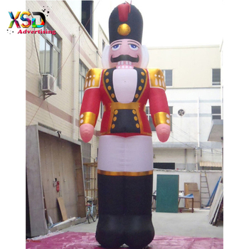 39d2bf3b50116 7m Huge Inflatable Christmas Nutcracker Model With Ul Blower - Buy ...