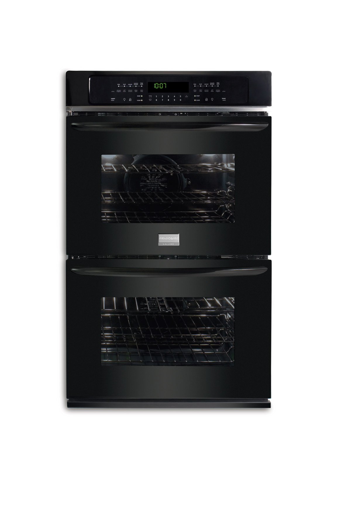 "Frigidaire FGET3065KBGallery 30"" Black Electric Double Wall Oven - Convection"