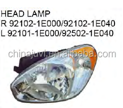 Hot sale products auto/car spare parts for Hyundai Accent 2006 front /headlamp