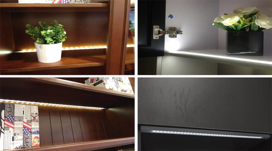 Led Cabinet Kitchen Lighting,Wedge Led Under Cabinet/shelf Light ...