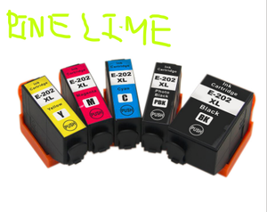 Pinelime 202XL T02G1 T02h1 Ink cartridge with chip compatible for Epson Expression premium xp-6000 / xp-6005