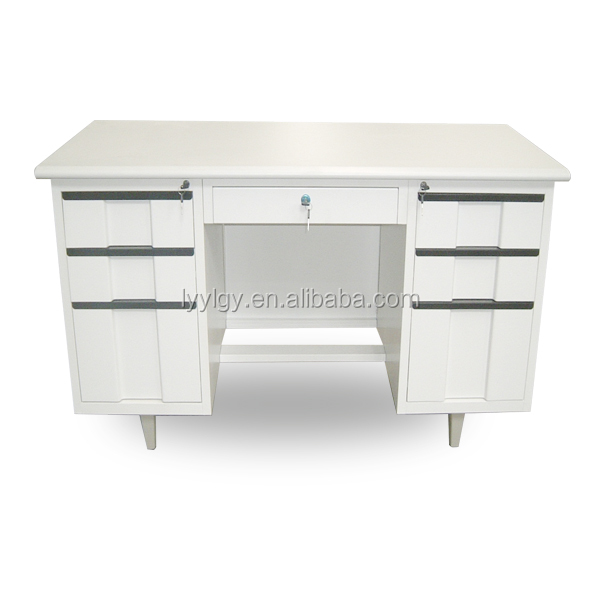 Widely Used Thailand Stainless Steel Computer Iron Desk Modern