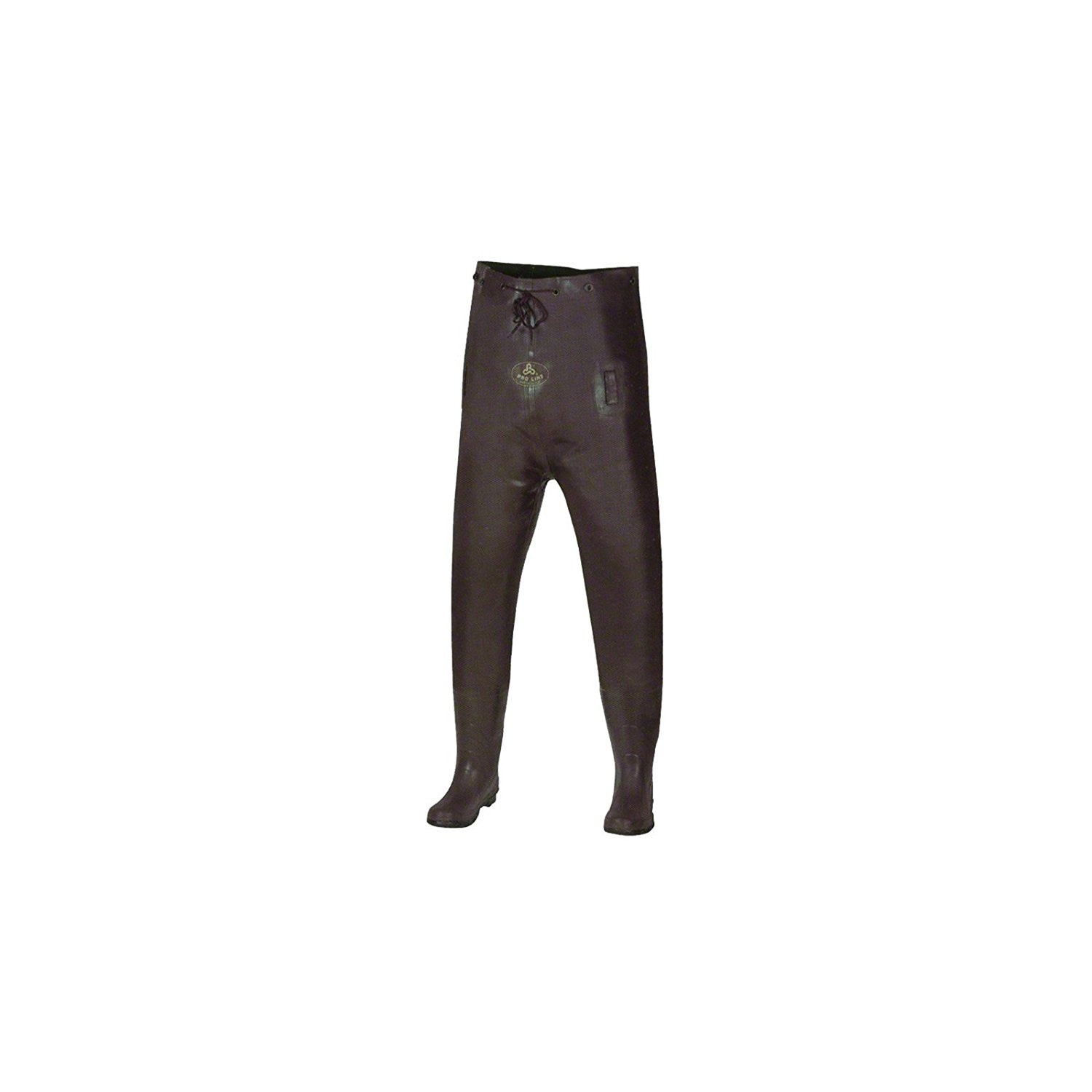 Pro Line® Women's Stream Rubber Chest Waders Cleated Brown