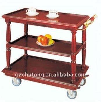 Hotel Guest Room Service Cart