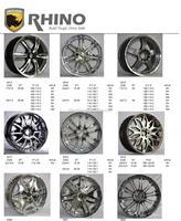 RHINO KING Brand alloy wheels for cars alloy wheel rim