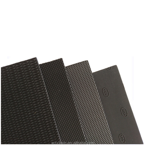 Rubber soling sheet for shoe sole