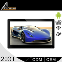 lcd new type advertising player 103 inch lcd tv