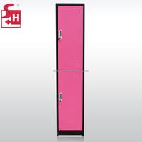 Free Standing Knock Down Structure Metal Wardrobe Closet