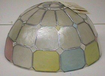 Capiz Shell Lamp Shade