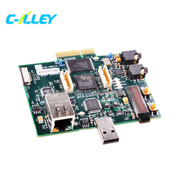 PCB Assembly for Car Dvd Player PCBA, Portable Dvd Player with Bluetooth PCBA Electronic Circuit Board