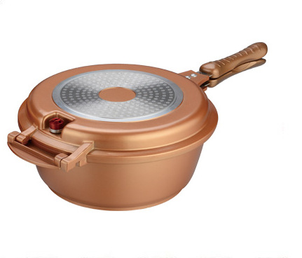 Copper Low Pressure Cooker Pressure Cooker Die-casting Aluminum Industrial Electrical Pressure Cooker
