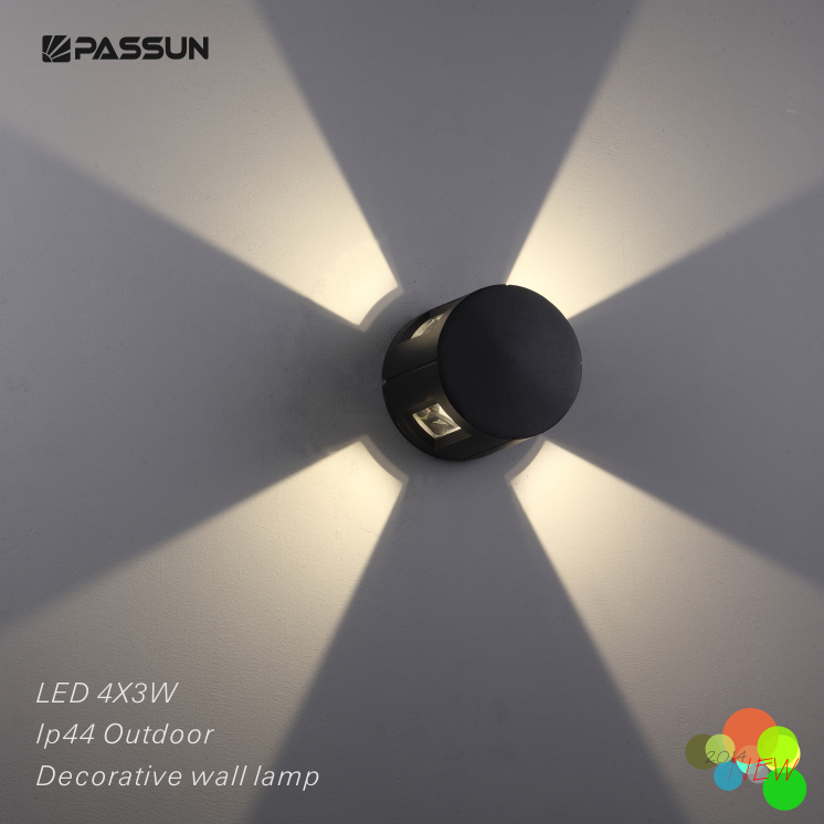 Ip44 Led Outdoor Wall Lights 12w Exterior Waterproof Lamps