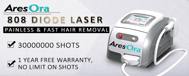 Winkonlaser laser hair removal equipment portable 808 nm diode laser hair removal machine