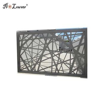 Custom Fashion Elegant Aluminum Laser Cut Metal Panel For Privacy Screen -  Buy High Quality Laser Cut Screens,Decorative Laser Cut Screens,Laser Cut