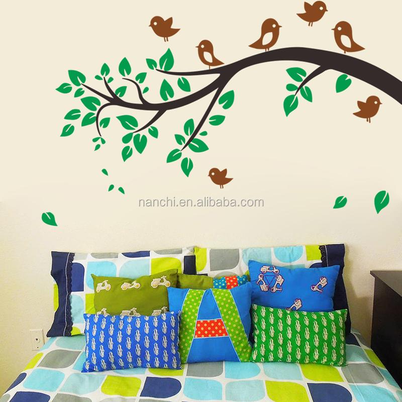 extrable de dibujos animados mono pegatinas de pared para nios decoracin del hogar vinilos infantiles