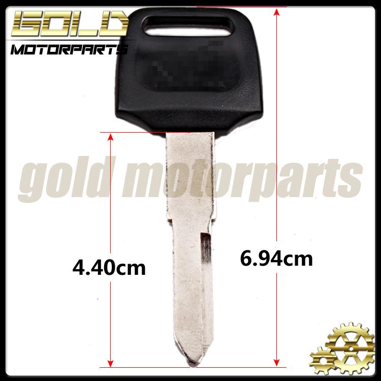 1 шт. новое мотоциклов замена ключ необрезанный для HONDA CBR250RR CBR400RR NC14 NC17 NC19 NC22 NC23 NC29 NSR250 CB-1 CB400