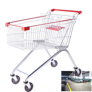 good price folding japanese shopping trolley luggage cart metal food cart