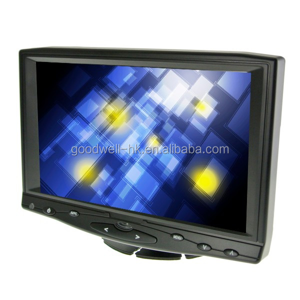 Full HD 1080P 1024X600 IPS Panel 16:9 Widescreen 7 Inch Touch Screen Monitor with HDMI Input for Professional DSLR Camera