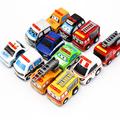 12Pcs Set Hot Wheels Mini Boy Aerial Cars juguetes Pull Back Car Toy Model Cars Multi