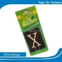 Advertising promotional logo printed hotel room air freshener