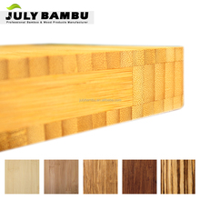 3 Ply 25mm Thickness Cross Laminated Bamboo Wood for Worktops