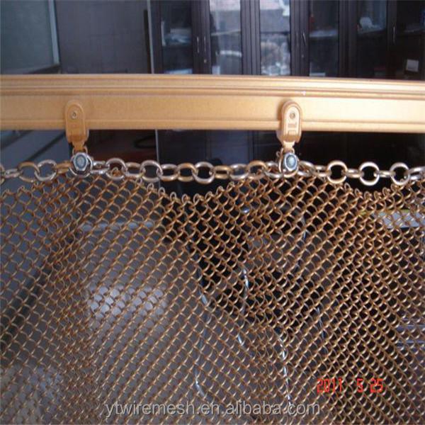 Fil D Alliage D Aluminium Rideau Maille Filets Haute