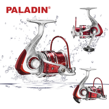 PALADIN Rainbow Aluminum Spinning Fishing Reels for Freshwater and Saltwater Fishing