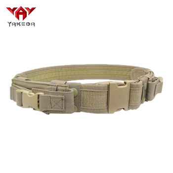 On Sale Police/military Belt Durable Tactical Security Duty Belt With Pouch  - Buy Duty Belt,Security Duty Belt,Tactical Security Duty Belt Product on