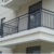 Cheap exterior balcony aluminum handrail for stair railing