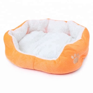 Factory Wholesale Pet Cushion Soft Dogs And Cats Pet Bed