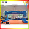Custom gaint advertising race starting finish sports event inflatable entrance arch gate
