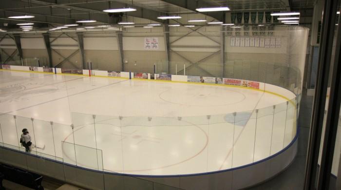Portable Synthetic Ice Rink System Senior Inline Hockey