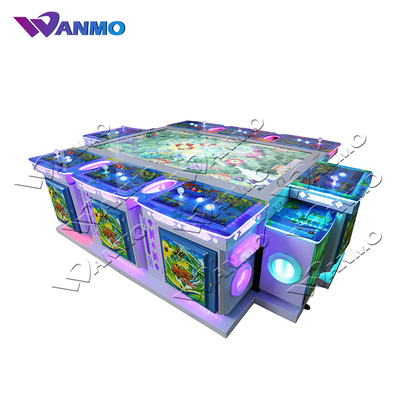 English version arcade fish hunter game machine ocean monster ocean king 3 fish table game for sale