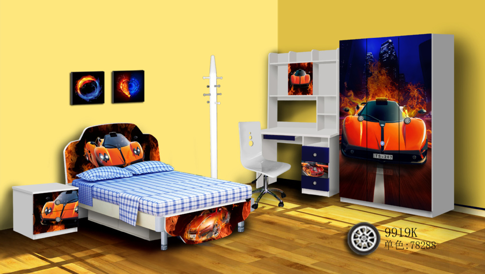 Kids Bedroom 2015 factory price 2015 hot-sale children bedroom furniture,kids car