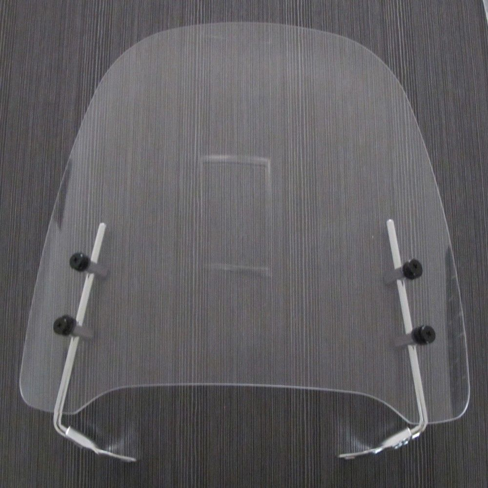 Small Clear Gas Gy6 Scooter Moped Motorcycle Windshield Screen Visor 125cc 150cc