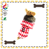 red louis checkerboard dog coat