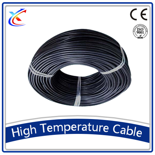 high temperature silicone rubber sheath cable flat electrical wire
