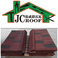 Linyi factory stone coated residential roofing material/building material metal roof tile/building material roof tile