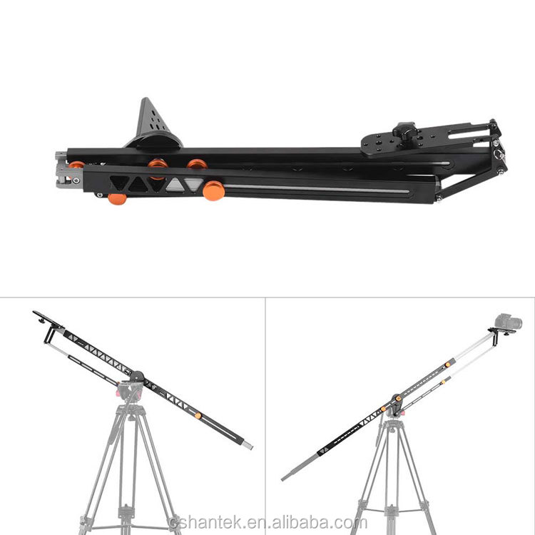 Good price aerial grade Aluminum Alloy adjustable Photography rocker arm Camera crane jib