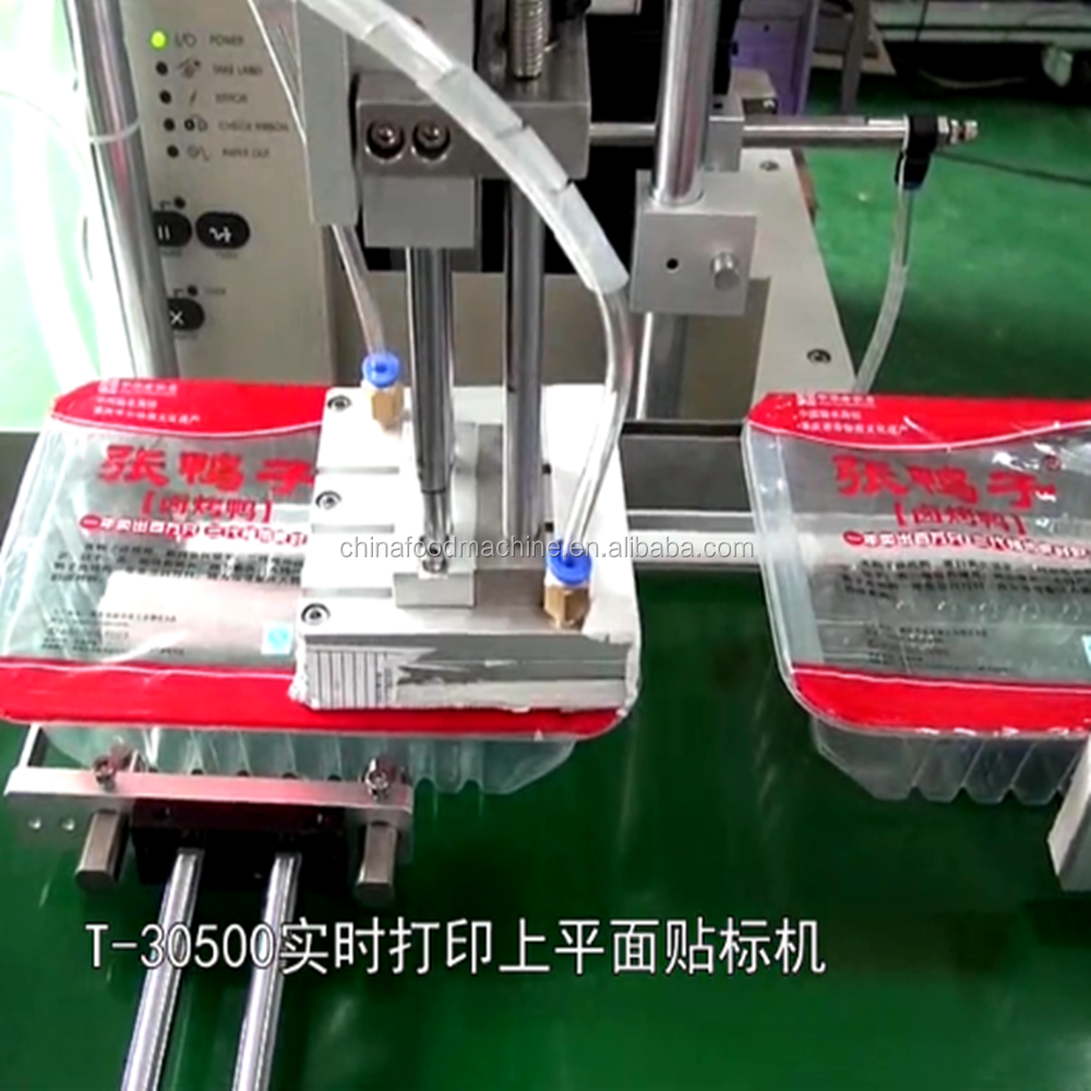 High Quality Carton Realtime Printing Plane Labeling Machine