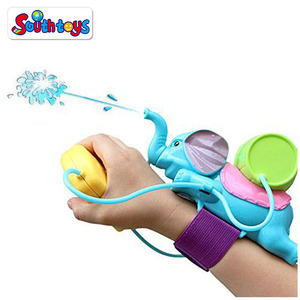 Summer Outdoor Sport Toy Cute Soaker Pistol Squirt Elephant Water Blaster Gun For Kids