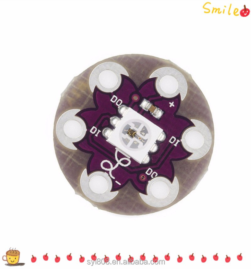 Wholesale Newest Module LilyPad Pixel Board WS2812 5050 RGB LED Module