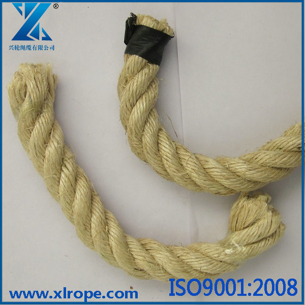3 strand 20mm twist manila ropethick sisal rope - Sisal Rope