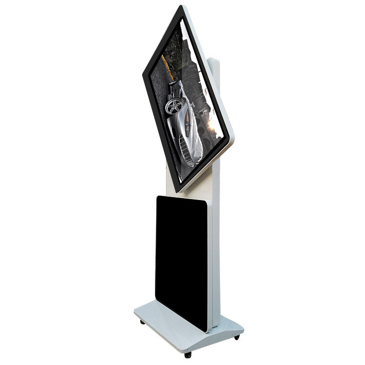 43 zoll touch display signage stand lcd videowerbung player und video poster display