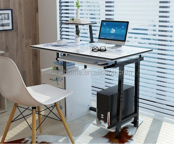 Modern Diy Mdf Study Computer Table Office Working Desk ...