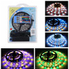 Flexible led strip light 12v 5a power adapter RF 40keys Controller 5050 rgbw cct led strip for house office decoration